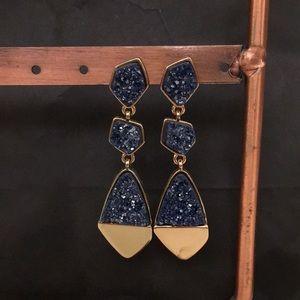 BaubleBar druzy earrings